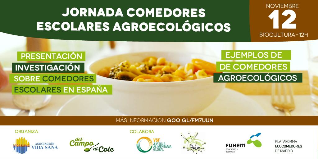 Jornada Comedores Escolares Agroecológicos