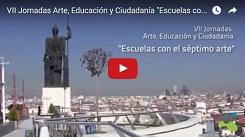 """Pasión por el cine en las VII Jornadas """"Arte, Educación y Ciudadanía"""""""