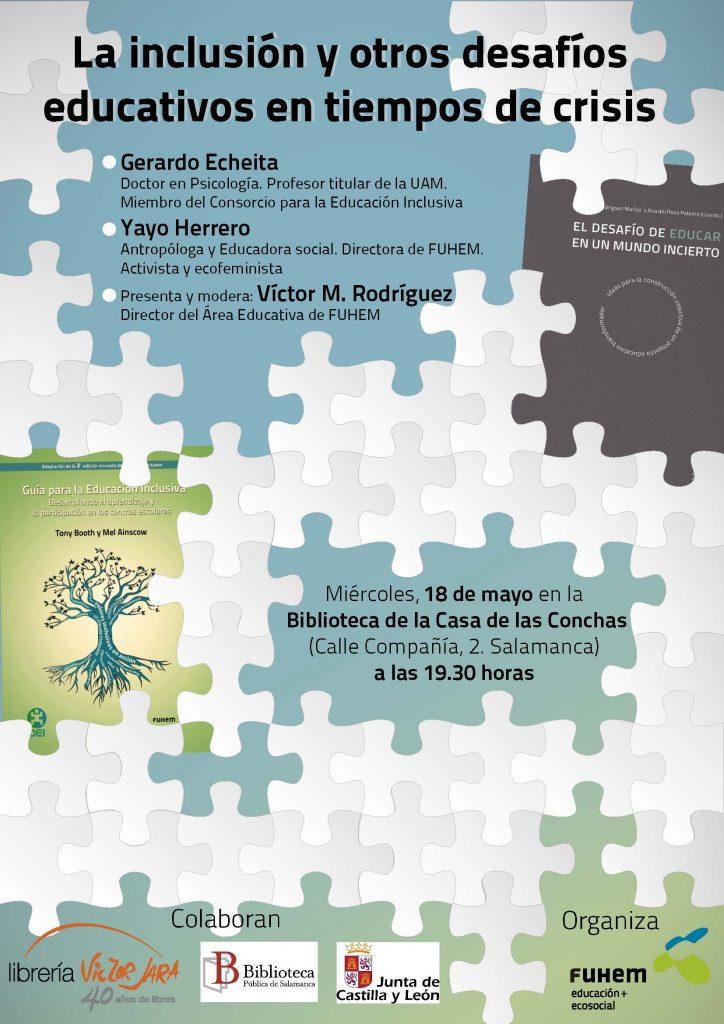 FUHEM presentó su visión educativa en Salamanca y Valencia
