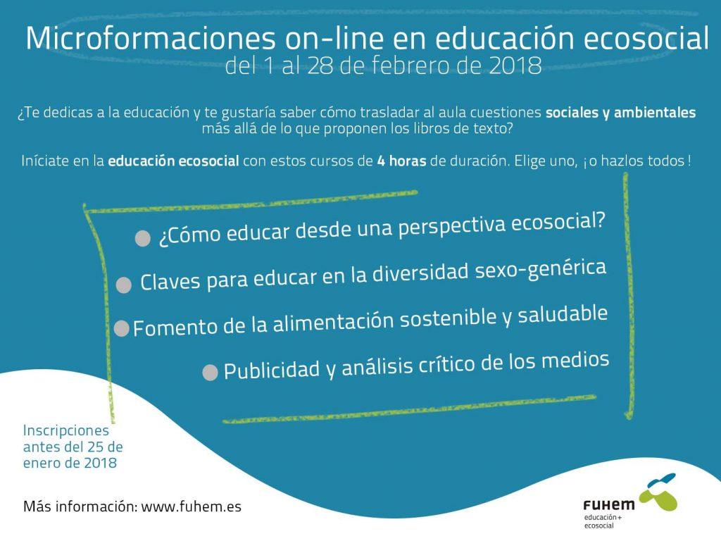 Nuevas microformaciones on line en educación ecosocial – FUHEM
