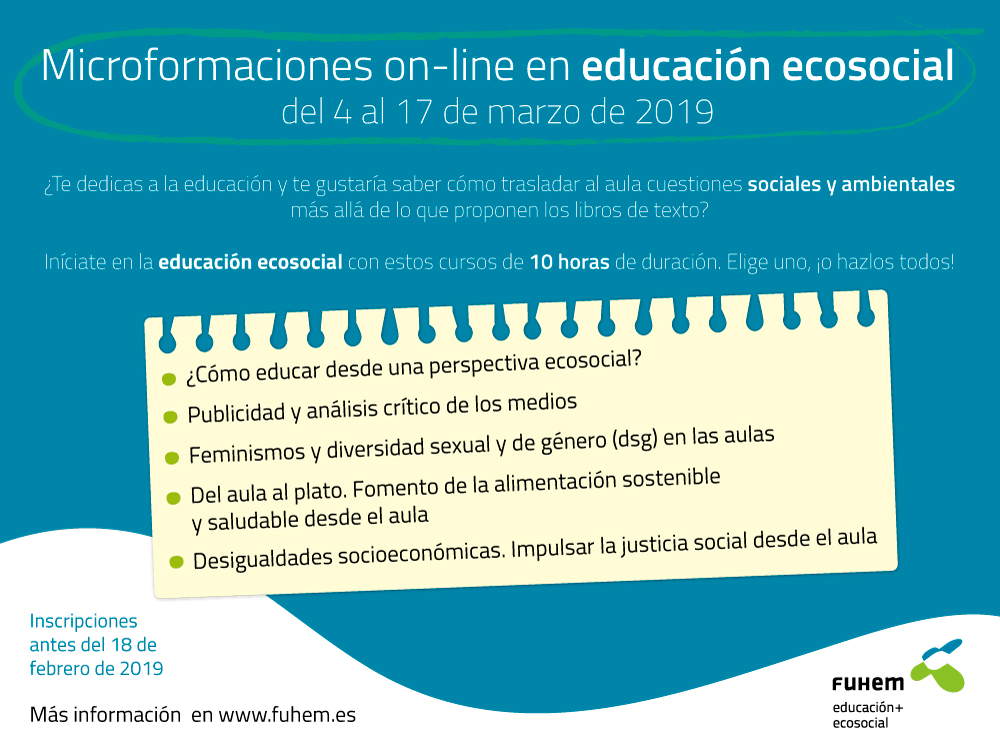 Nueva edición de las microformaciones on line en educación